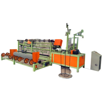 Automatic Galvanized chain link fence machine