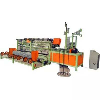 Double-Spiral-Fully-Automatic-Chain-Link-Wire-Fence-Machine