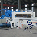 China Steel Reinforcing Welded Wire Mesh Panel Machine Plc Control