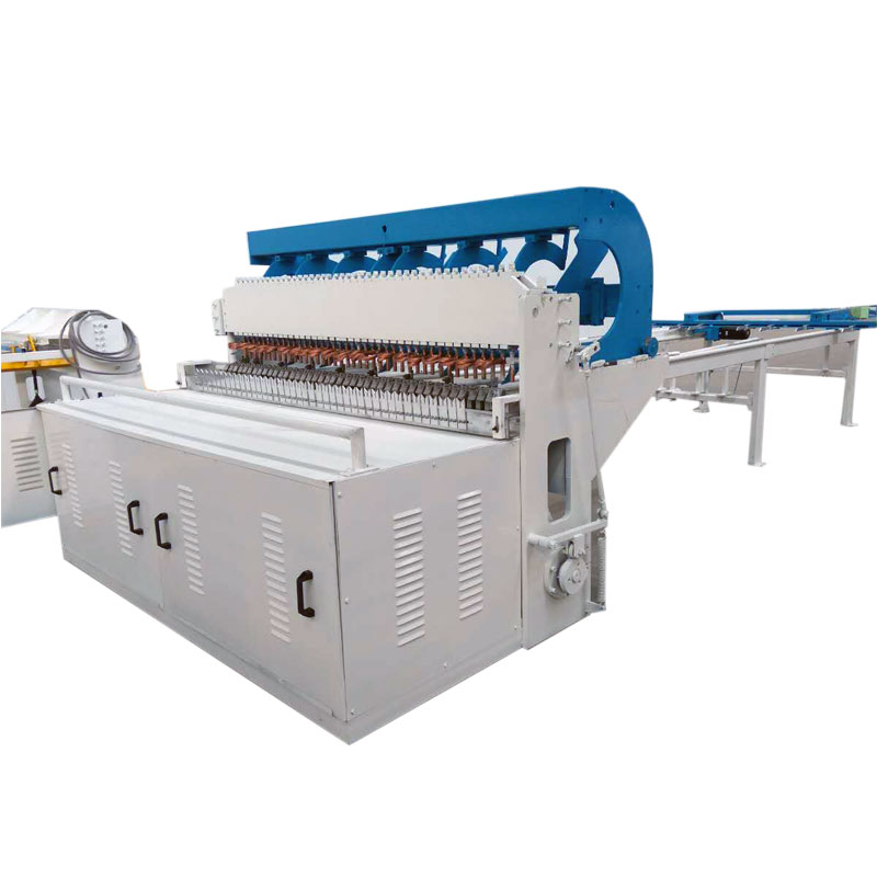 Automatic welded mesh machine