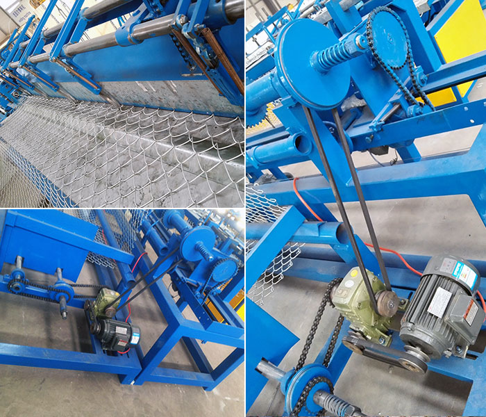 Single Wire Chain Link Fencing Machine