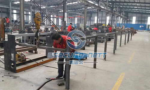 Single Spiral Fully Automatic Chain Link Wire Fence Machine